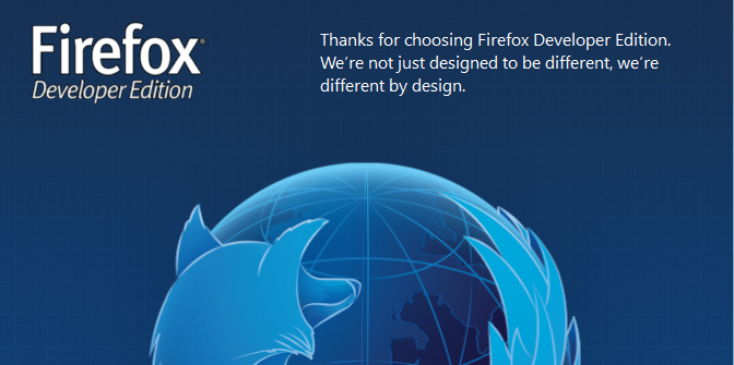 Firefox Developer Edition - A browser for weavers of the web